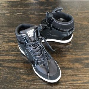 Nike Force Wedge Hightop Sneakers Size 6.5